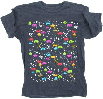 space invaders tshirt goodie-two-sleeves