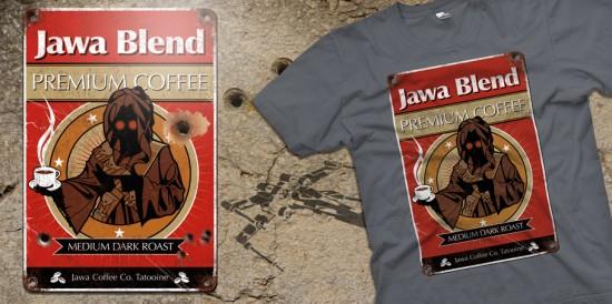 jawa coffee t-shirt